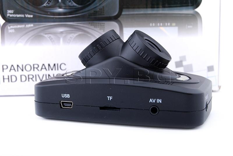 Видеорегистратор, 360 градуса