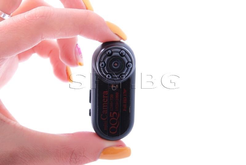 Мини камера с широкоъгълен обектив