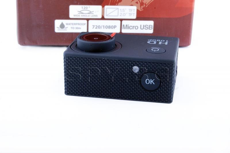 Херметична спортна камера с 1.5 инчов дисплей