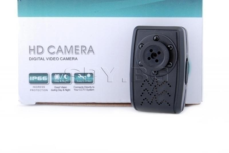 Мини камера копче с детектор за движение, без батерия
