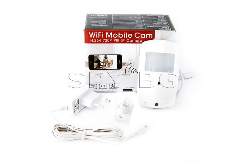 IP камера в PIR датчик с microSD карта