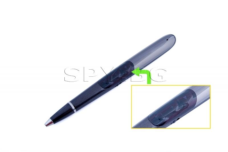Аудио рекордер в химикалка с гласова активация - 15 часа
