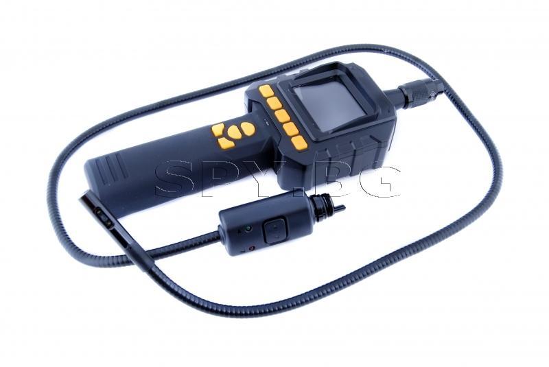 Ендоскоп с две камери и възможност за запис