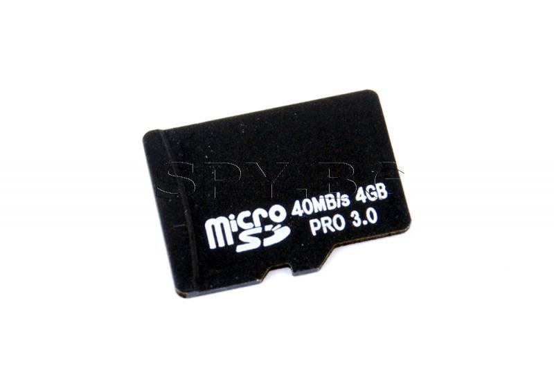 MicroSD карта 4GB