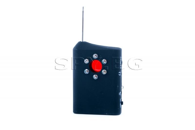 Детектор за откриване на скрити камери и подслушватели