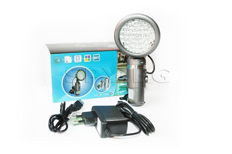 Скрита камера с детектор за движение