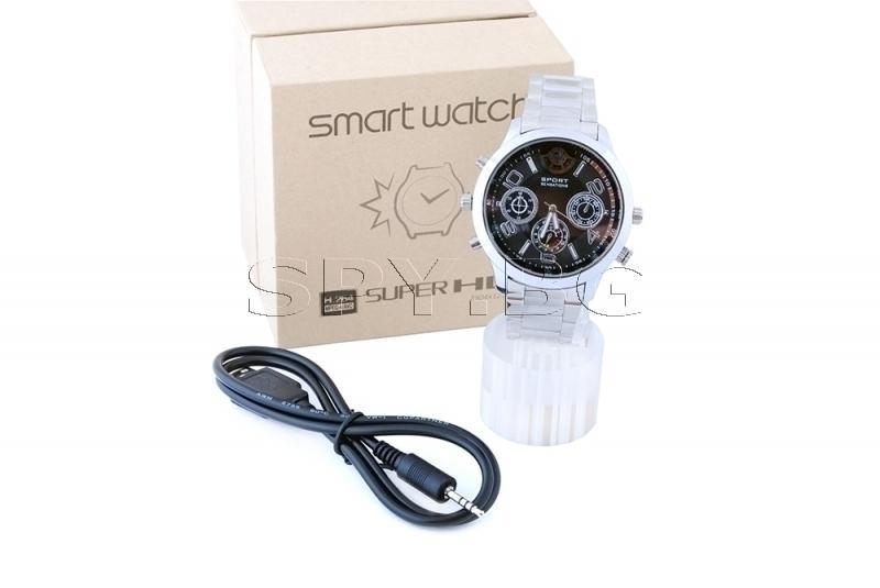 SuperHD камера в часовник с детектор за движение-16GB