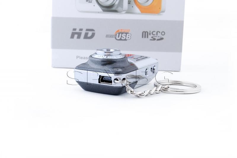 Мини фотоапарат с детектор за движение