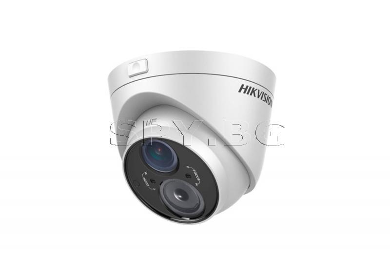 Куполна камера с обектив 2.8~12 мм EXIR HIKVISION
