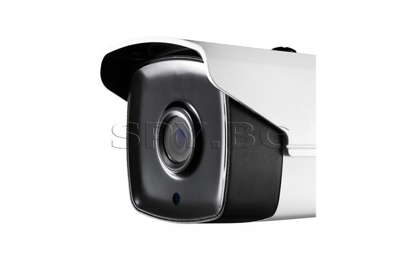 HD-TVI корпусна камера с обектив 3.6 мм HIKVISION