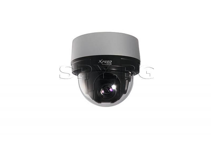 Моторизирана куполна камера за вътрешен монтаж CNB