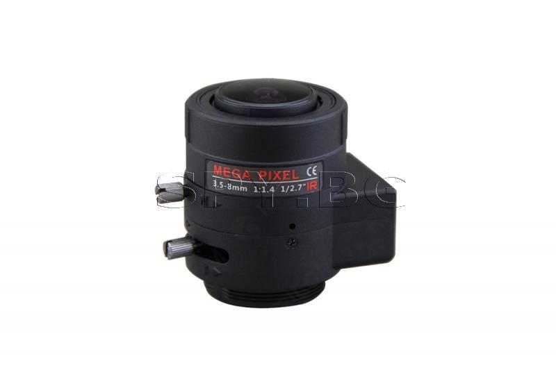 Варифокален обектив 3.5-8mm Ricom