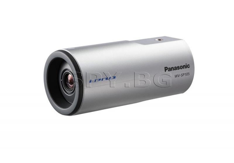 Компактна HD корпусна IP камера Panasonic