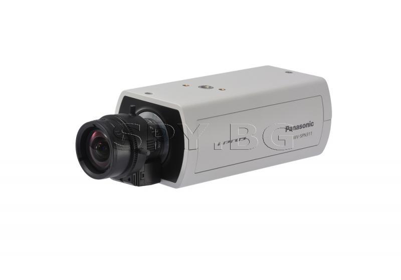 HD корпусна IP камера Ден/Нощ Panasonic