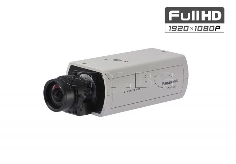 Full HD корпусна 2.4MP IP камера Ден/Нощ Panasonic