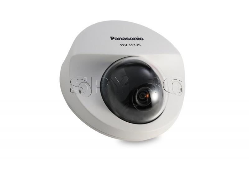Компактна HD куполна IP камера Ден/Нощ Panasonic