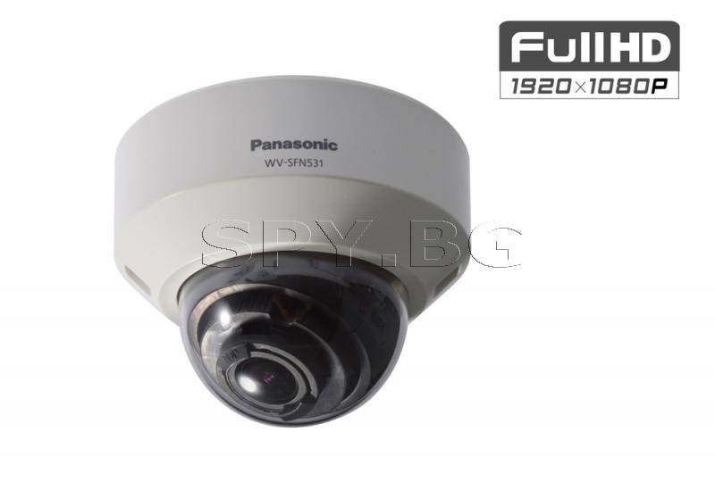 Full HD куполна IP камера Ден/Нощ Panasonic