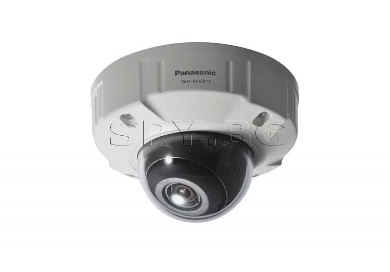 Вандалоустойчива HD куполна IP камера Panasonic