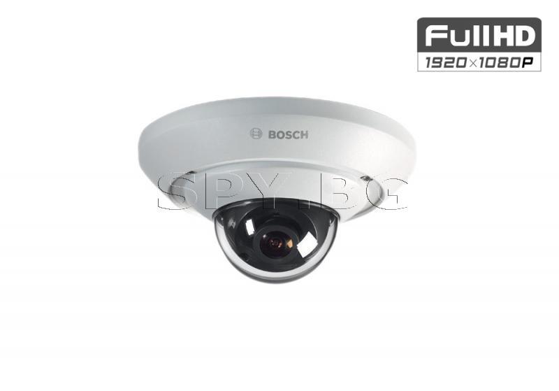 Компактна куполна IP камера FullHD 1080p BOSCH