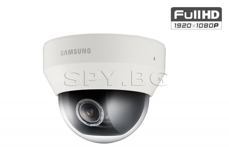 FullHD куполна IP камера H.264/MJPEG Samsung