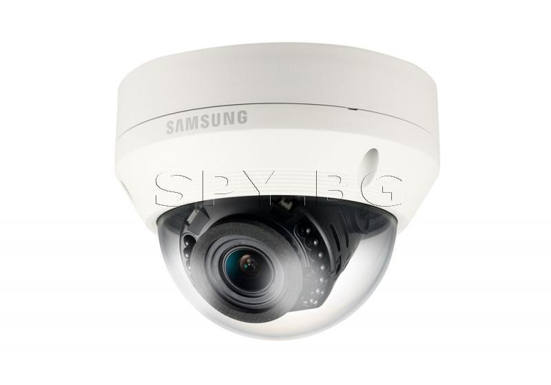 HD куполна IP камера Ден/Нощ с IR осветление Samsung