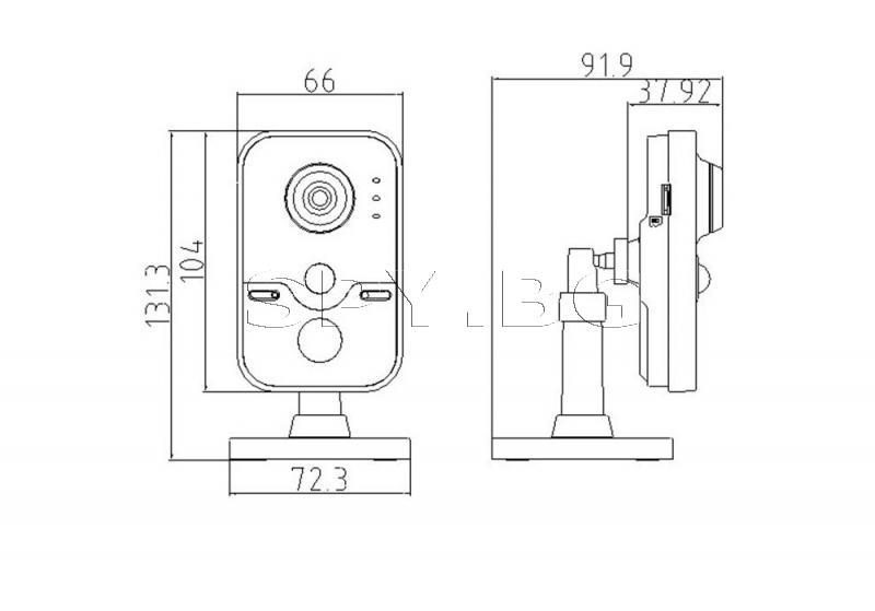 Безжична компактна IP камера - HIKVISION