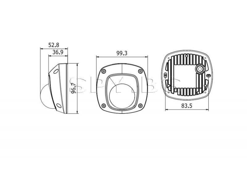 4MP Куполна IP камера с IR осветление до 30м HIKVISION