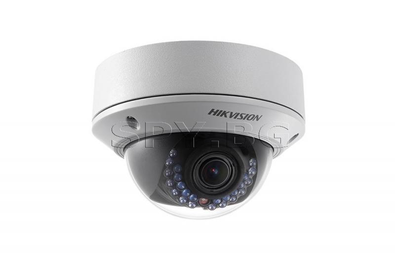 Куполна IP камера с IR осветление до 30м HIKVISION