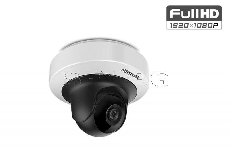 Управляема Pant/Tilt IP мини-камера HIKVISION