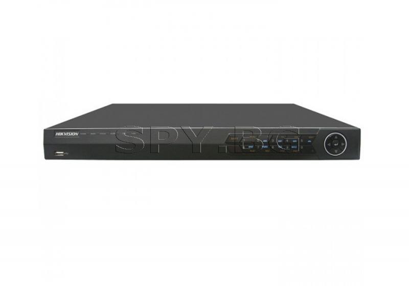 8-канален мрежов рекордер запис до 6MPx HIKVISION