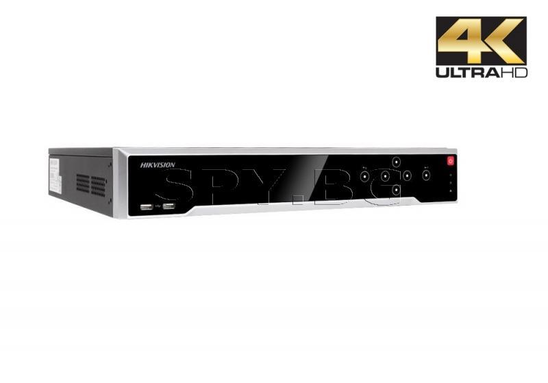 32-канален 4К мрежов рекордер/сървър запис до 12MP HIKVISION