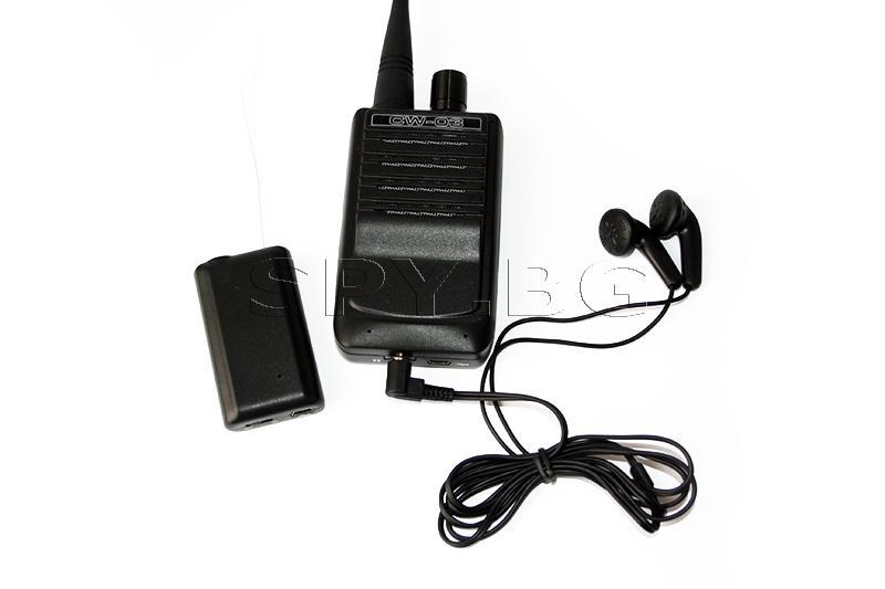 Аудио приемник и подслушвател с гласова активация