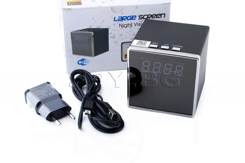 IP камера в часовник с нощно виждане
