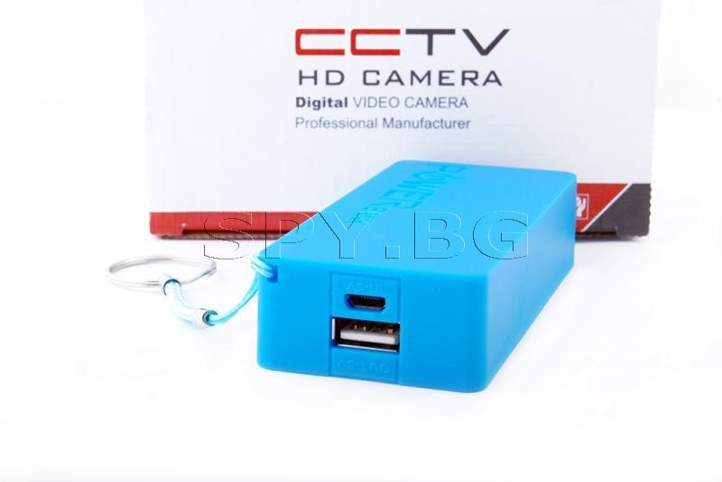 IP камера със захранване от Power bank