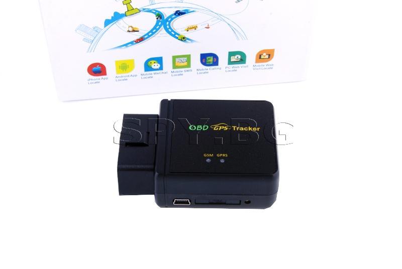 GPS тракер за OBD букса