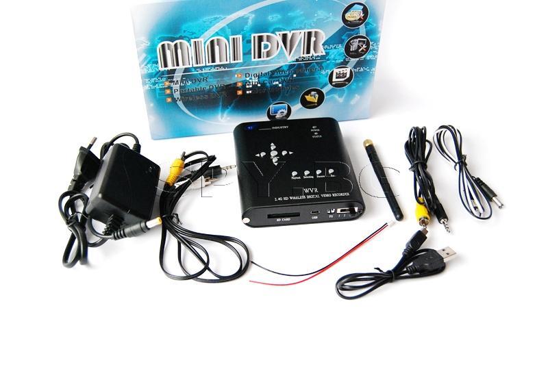 Двуканален DVR за жични и безжични камери