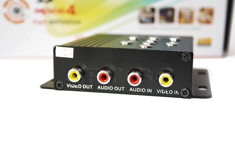 Мини DVR за безжични камери на 2.4 GHz