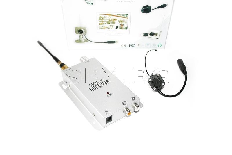 Безжична камера и приемник на 1.2 GHz.