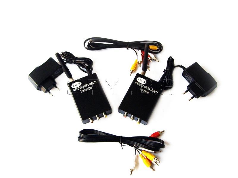 Безжични приемник и предавател на аудио-видео сигнали 1W