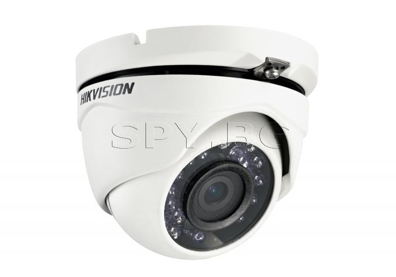 Куполна камера 4в1 1MP, 92° HIKVISION