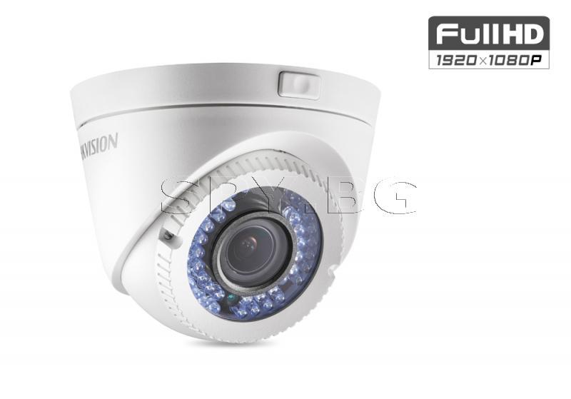 HD-TVI куполна камера 2MP HIKVISION