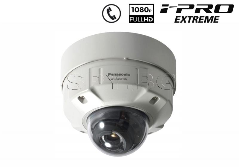 Full HD куполна IP камера 2MP Panasonic