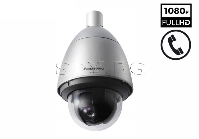 FULL HD PTZ управляема куполна IP камера Panasonic