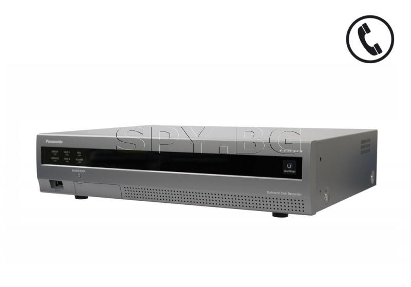9-канален мрежов рекордер (NVR) 4TB Panasonic