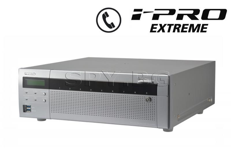 64-канален мрежов рекордер (NVR) 12TB Panasonic