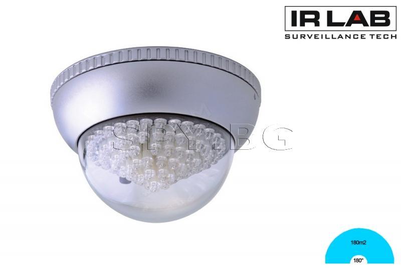 Инфрачервен прожектор за вътрешен таванен монтаж 180m2 IRLAB