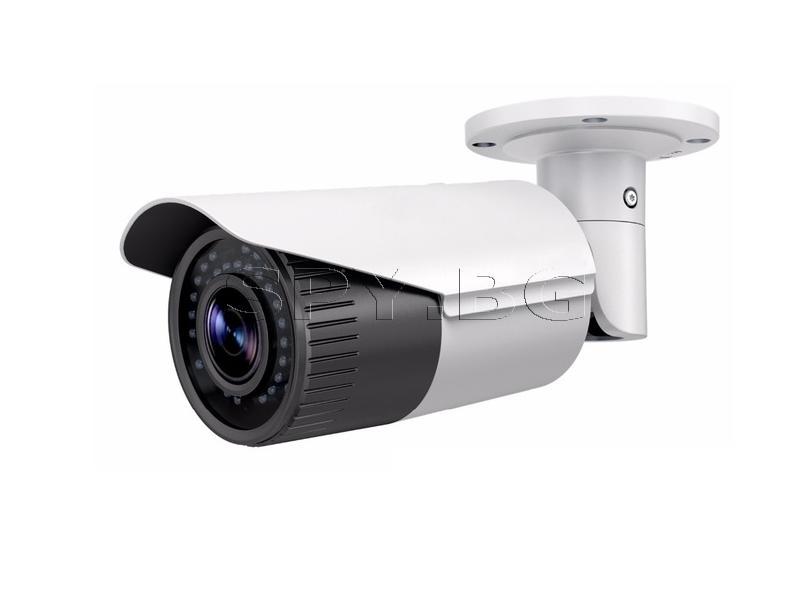 Корпусна IP камера 4MP до 30метра Ден/Нощ HIKVISION