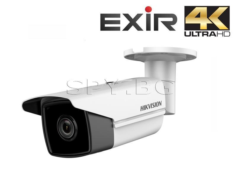 8MP 4K UltraHD IP камера Ден/Нощ, EXIR до 50м HIKVISION