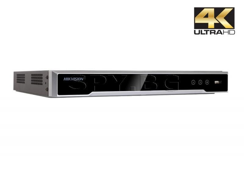 16-канален 4K мрежов рекордер/сървър до 12MP HIKVISION