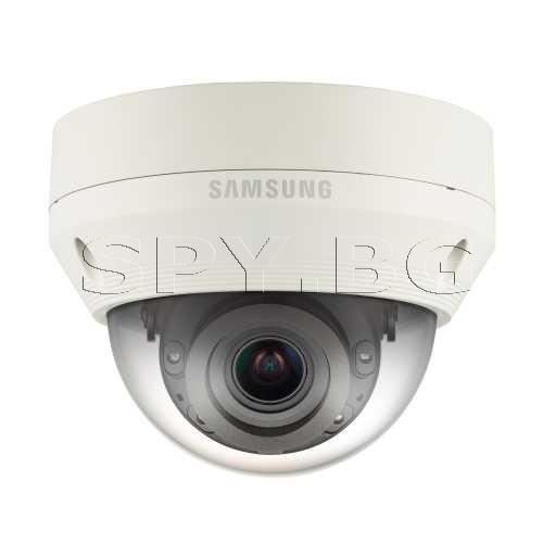4MP вандалоустойчива IP камера IR осветление до 30м SAMSUNG